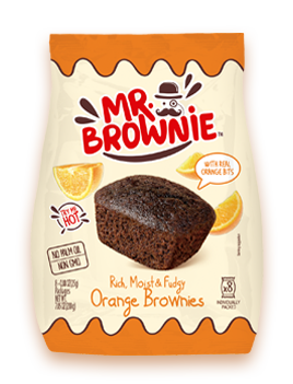 Brownies de Naranja