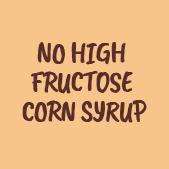 no high fructose corn syrup