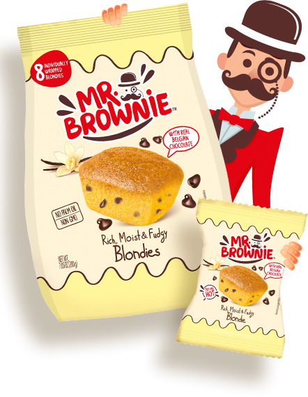 Mr. brownie Blondies