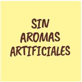 Sin aromas artificiales