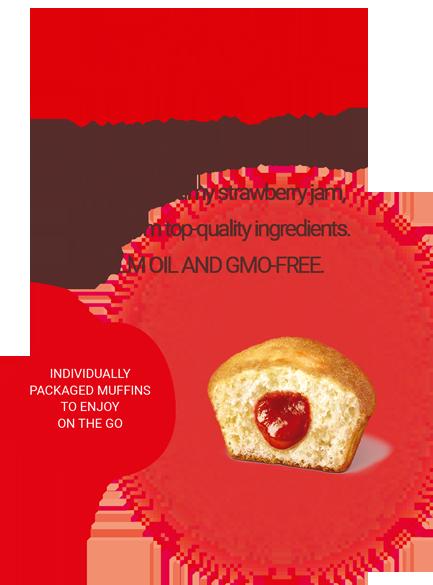 Mrs Muffin Strawberry