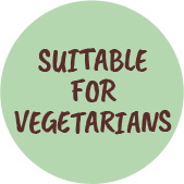 suitable for vegetarians